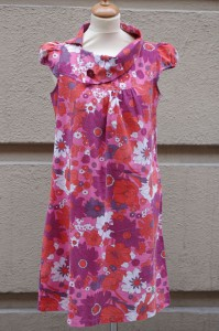 Rino klänning, vintage tyg