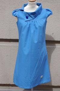 60-tals prickig klänning
